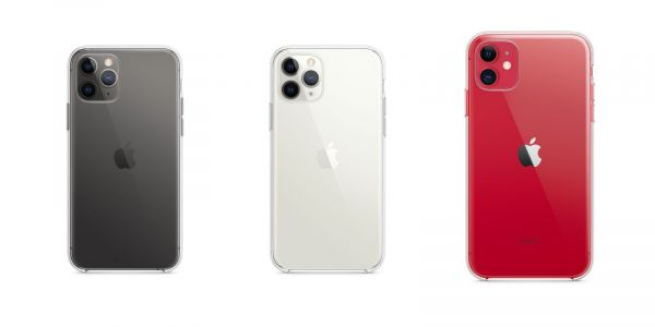 Apple now makes clear cases for all new iPhones, not just iPhone XR