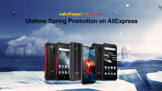 Ulefone Launches 'Spring Promotion' On AliExpress