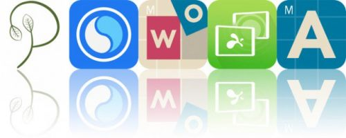 Today's Apps Gone Free: Purely Vegan, DMD Panorama, Intro to Words and More