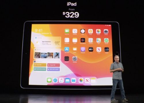New Retina Apple iPad 10.2 designed for iPadOS from $329