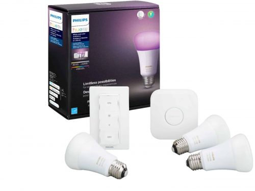 Save $50 On The Philips Hue White & Color Ambiance LED Starter Kit