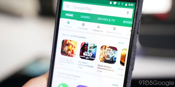 An early look at rounded square Android app icons in the Google Play Store