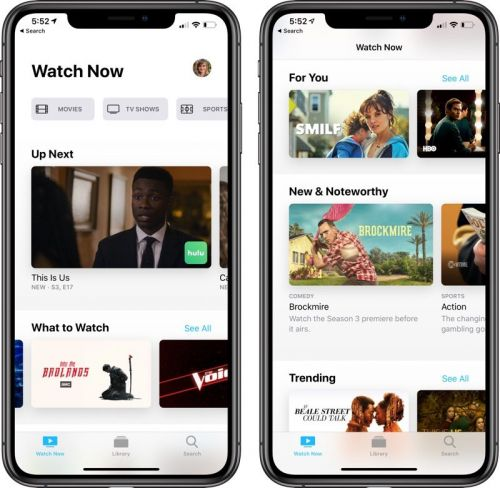 Apple Seeds Third Public Beta of iOS 12.3 With New TV App