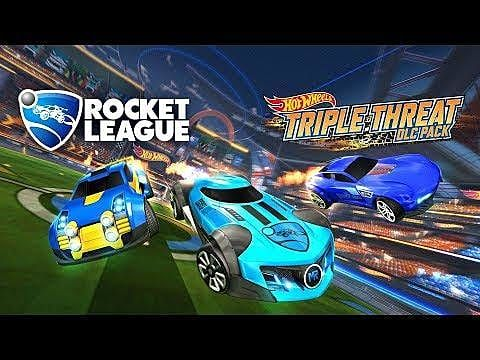 New Rocket League Hot Wheels DLC Coming September 24