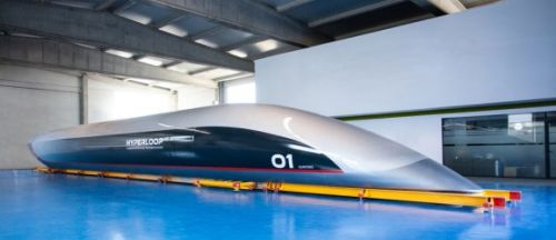 Hyperloop passenger capsule arrives in Toulouse for testing on new track