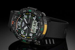 Affordable Casio Pro Trek PRT-B50 watch with smartphone connectivity revealed