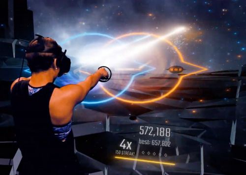 Audica mixed reality rhythmic shooter unveiled by Harmonix