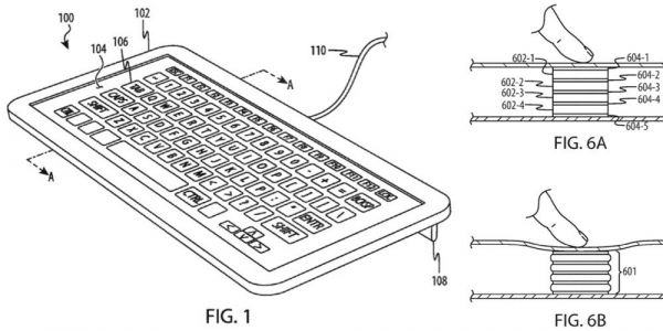 Apple patent describes three ways to make a screen-based MacBook keyboard feel real