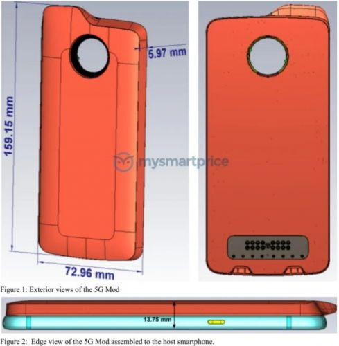 5G Moto Mod is almost here, makes an appearance at the FCC