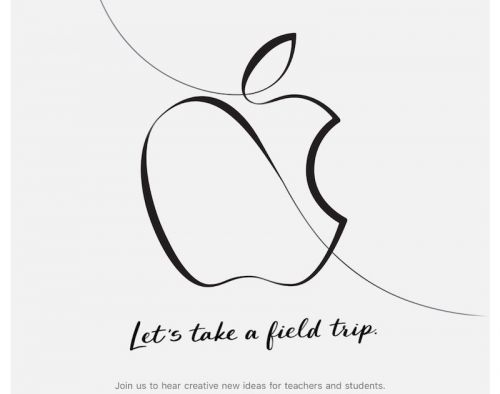Apple Sends Invites to March 27 Event in Chicago: 'Creative New Ideas for Teachers and Students'