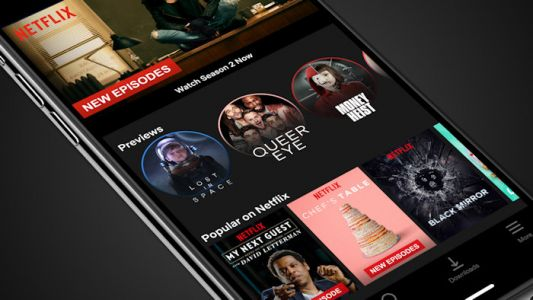 Netflix trailers are now on iOS