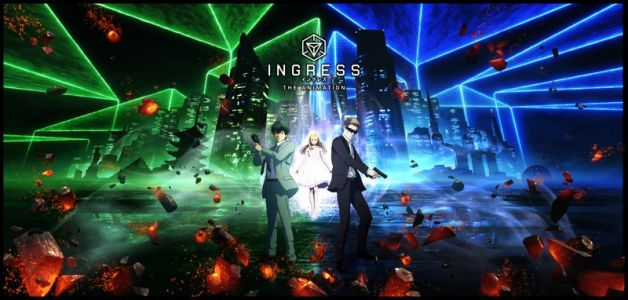 Ingress: The Animation debuts on Netflix worldwide starting today