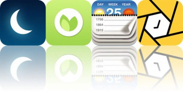 Today's Apps Gone Free: Sleep Watch, Natr, Calendarium and More