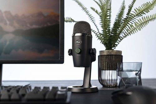 Grab a Blue Yeti Nano microphone for cheap for Black Friday / Cyber Monday