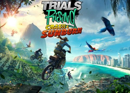 Trials Rising Crash & Sunburn expansion now available