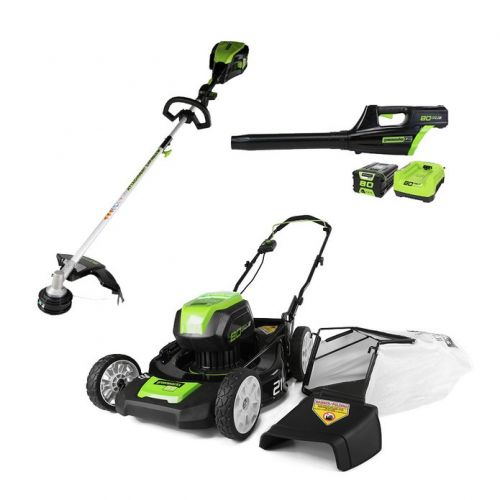 Let these discounted Greenworks outdoor tools help you improve the look of your yard