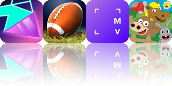 Today's Apps Gone Free: Neo Angle, Flick Kick Field Goal, Myvinchy and More