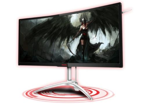 AOC AGON AG352UCG6 35-Inch 120Hz Curved Gaming Monitor Unveiled