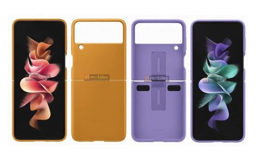 Samsung Galaxy Z Flip3 case renders appear before official launch