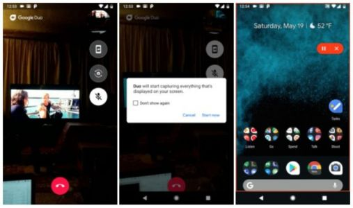Google Duo Introduces New Screen Sharing Feature