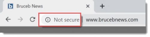 """Why Does Chrome Say A Website Is """"Not Secure""""?"""