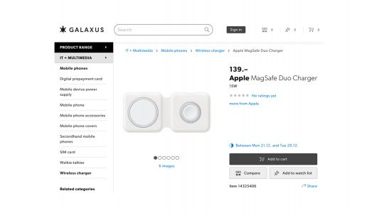 Apple reseller in Switzerland suggests MagSafe Duo charger launch on December 21