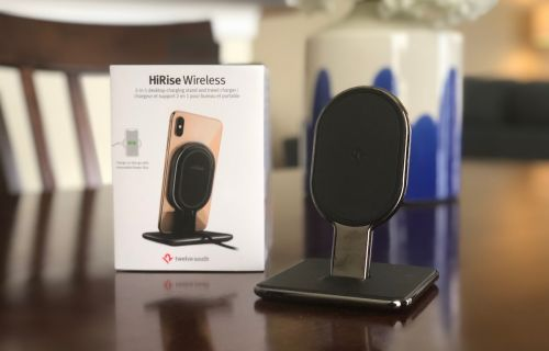 Review: Twelve South's New 'HiRise Wireless' Converts From Stand to Mat for Charging iPhone and AirPods