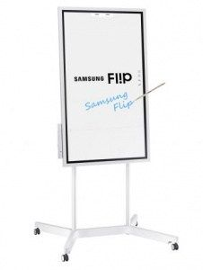Samsung Flip charts the paperless office - CES 2018