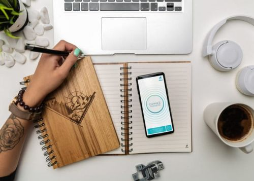 WOOK Smart Wooden NFC Notebooks
