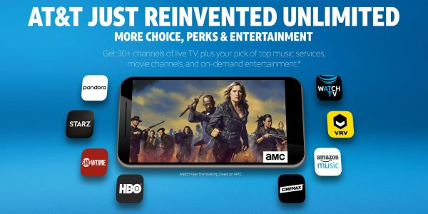 AT&T launches WatchTV, 'unlimited' mobile plans with 30+ TV channels