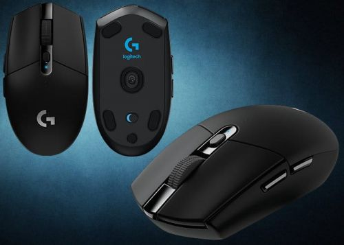 New Logitech G305 Wireless Gaming Mouse With HERO Optical Sensor For $60