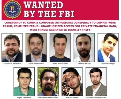 Nine Iranians indicted by US for hacking to steal research data