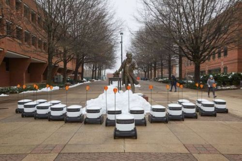 Starship Technologies' robots begin delivering food to college kids
