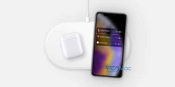 Hidden AirPower image with iPhone XS and new AirPods discovered on Apple site