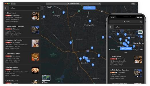 DuckDuckGo Enhances Apple Maps Integration, Including Dark Mode