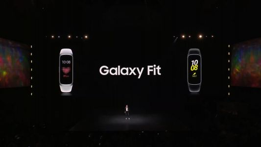 Samsung's new Galaxy Fit is just a pretty basic fitness tracker
