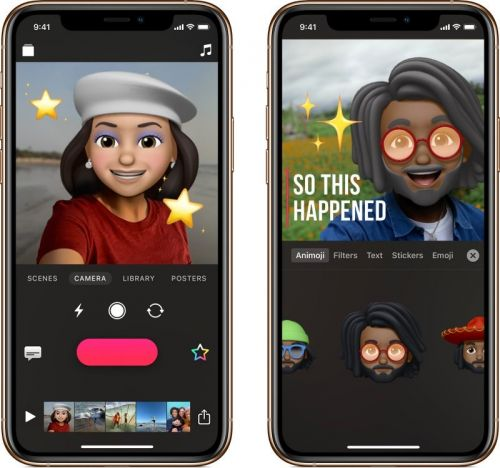 Apple's Clips App Gains Support for Memoji and Animoji, Plus New Stickers