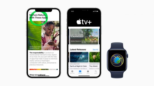 Apple Celebrates Earth Day 2021 With Specially Curated Content in Apple TV+, App Store, and More