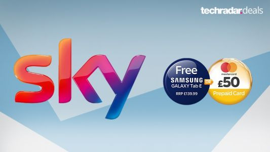 Get a free Samsung tablet or £50 Mastercard with Sky broadband deals