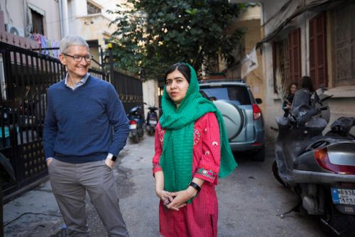 Apple To Support Girls' Education With Malala Fund
