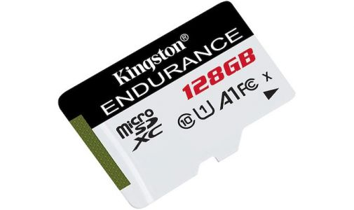 Kingston Launches High-Endurance microSD Cards: Up to 128 GB