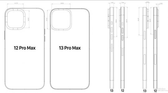 Leaked iPhone 13 Pro Max designs appear to show much bigger cameras