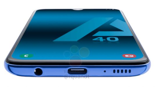 Samsung Galaxy A40 Leaks With Two Rear Cameras, Tiny Notch
