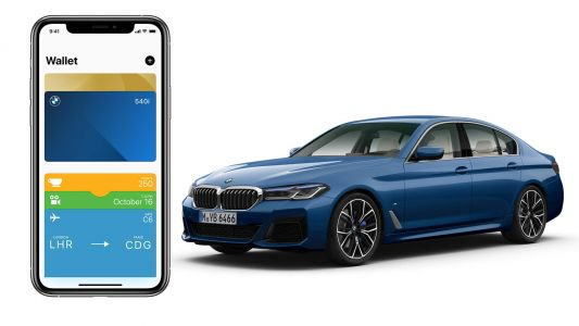 BMW Updates Connected App With Car Keys Support
