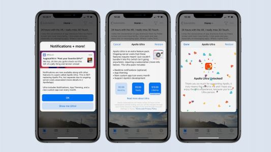 Apollo for Reddit adds new 'Ultra' feature pack with theming, realtime notifications, more