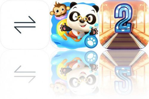 Today's Apps Gone Free: Amount, Dr. Panda Swimming Pool and Train Conductor 2