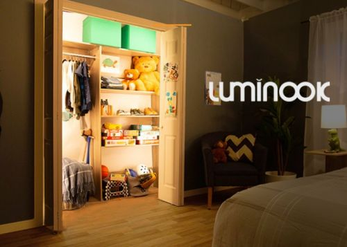 Luminook provides shadow-free illumination for the dark cupboard spaces in your home