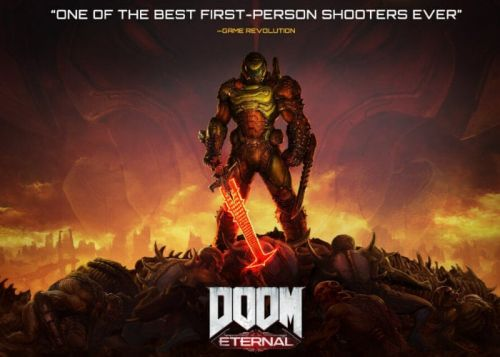 DOOM Eternal blasts on to Xbox Game Pass next month