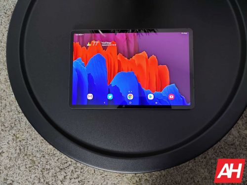 There's No Limits On The Galaxy Tab S7+ Refresh Rate