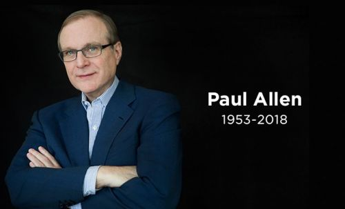 Microsoft Co-Founder Paul Allen Passes Away at 65 Following Battle With Cancer